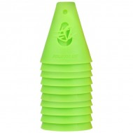 KIT CONES POWERSLIDE, Cor: VERDE