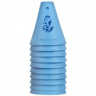 KIT CONES POWERSLIDE, Cor: AZUL