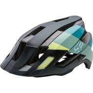CAPACETE FOX FLUX - DRAFTER BLACK