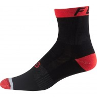 MEIA FOX DH 6'' RED|BLACK
