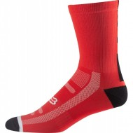 MEIA FOX DH 8'' RED|BLACK