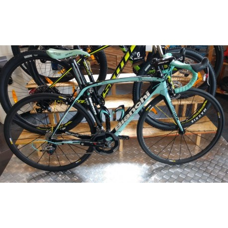 BIKE SPEED BIANCHI OLTRE XR2 - 2015 - TAM 53 (SEMI-NOVA)