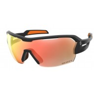SCOTT SPUR SUNGLASSES BLACK MATT ORANGE