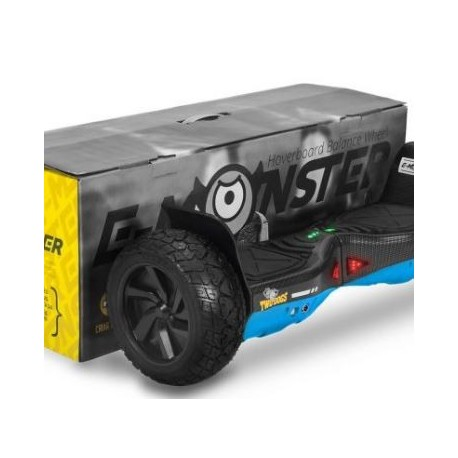HOVERBOARD 700W TWODOGS MONSTER - AZUL CARBONO