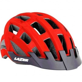CAPACETE CICLISMO LAZER COMPACT - RED