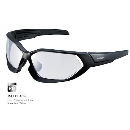 OCULOS SHIMANO S51X-PH - GLOSS SILVER / BLACK